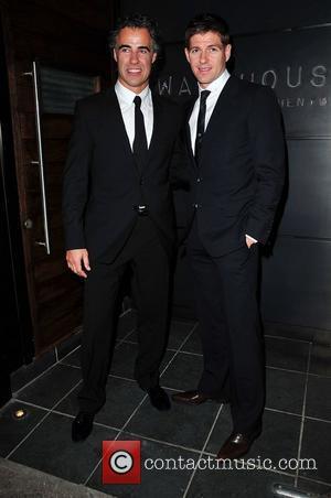 Steven Gerrard and His Business Partner Paul Adams