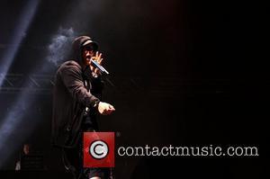 Eminem T In The Park 2010 Music Festival - Day 2 Balado, Scotland - 10.07.10