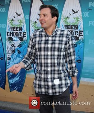 Jimmy Fallon The 12th Annual Teen Choice Awards 2010 held at the Universal Gibson Ampitheatre - Arrivals Los Angeles, California...