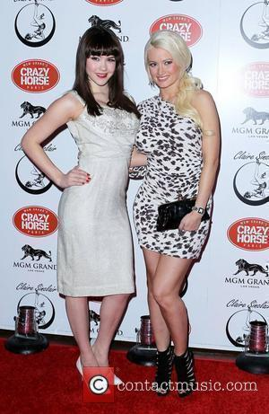 Claire Sinclair and Holly Madison Claire Sinclair Premieres at The Crazy Horse Paris at the MGM Grand Resort & Casino...