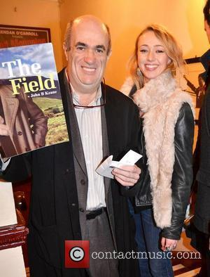 Colm Tobin, Roisin Agnew,  at the opening night of John B Keane's 'The Field' at The Olympia Theatre -...