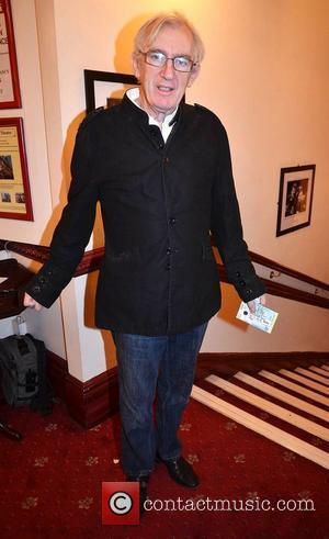 Shay Healy,  at the opening night of John B Keane's 'The Field' at The Olympia Theatre - Arrivals Dublin,...