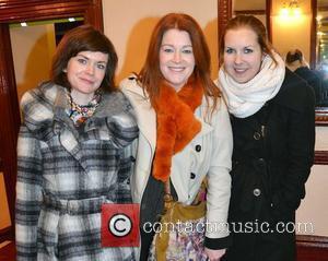 Lucy Farrell, Blathnaid Ni Chofaigh, Sinead Ni Churnain,  at the opening night of John B Keane's 'The Field' at...