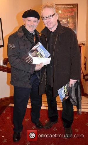 Brush Shiels, Paul Brady,  at the opening night of John B Keane's 'The Field' at The Olympia Theatre -...