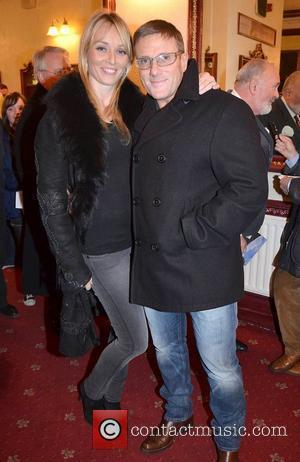 Siobhan Stevens, Paul Byrne,  at the opening night of John B Keane's 'The Field' at The Olympia Theatre -...