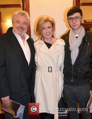 John McColgan & Moya Doherty, son Danny McColgan,  at the opening night of John B Keane's 'The Field' at...