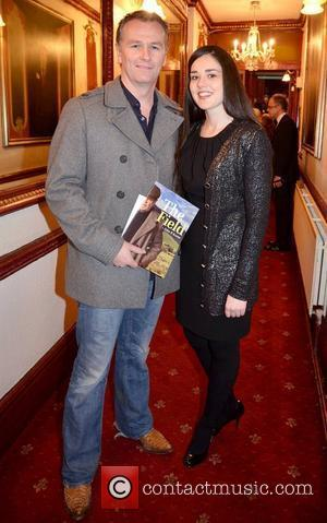 Daithi O'Se, Rita Talty,  at the opening night of John B Keane's 'The Field' at The Olympia Theatre -...
