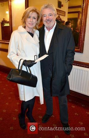 John McColgan & Moya Doherty,  at the opening night of John B Keane's 'The Field' at The Olympia Theatre...