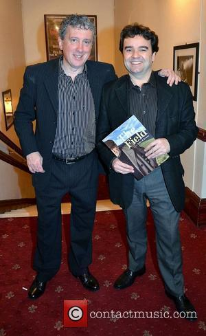 Billy Keane, Donal Shiels,  at the opening night of John B Keane's 'The Field' at The Olympia Theatre -...