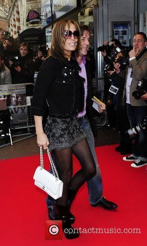 Tara Palmer-Tomkinson UK Premiere of 'The Heavy' held at the Odeon West End London, England - 15.04.10