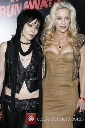 Joan Jett and Cherie Currie Los Angeles Premiere of 'The Runaways' held at Cinerama Dome Arclight Theaters in Hollywood Los...