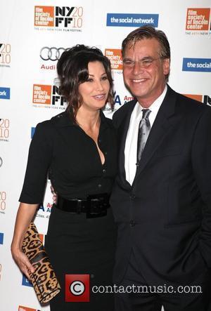 Gina Gershon and Aaron Sorkin