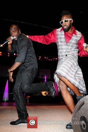 Akon and DJ Benny Demus Think Pink Rocks concert to benefit breast cancer research charities at Mizner Park Amphitheatre Boca...