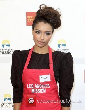 Katerina Graham Anne and Kirk Douglas Center host a Thanksgiving Meal for the Homeless held at the Los Angeles Mission....