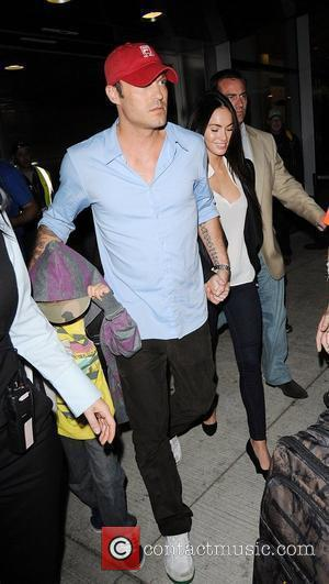 Megan Fox and Brian Austin Green with his son Kassius at the 35th Toronto International Film Festival 2010 Toronto, Canada...