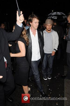 Edward Norton attends the Instyle party at AME during the 35th Toronto International Film Festival 2010 Toronto, Canada - 11.09.10