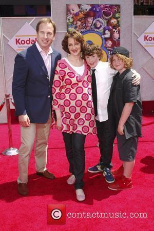 Joan Cusack and family  Los Angeles Premiere of Walt Disney Pictures 'Toy Story 3' at the El Capitan Theatre...
