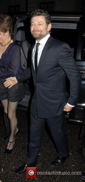 Andy Serkis ,  The Variety Club Showbiz Awards 2010 - outside arrivals London, England - 14.11.10