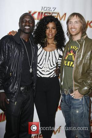 Akon, Kelly Rowland and David Guetta KIIS FMOS Wango Tango 2010 - Arrivals held at Staples Center Los Angeles, California...