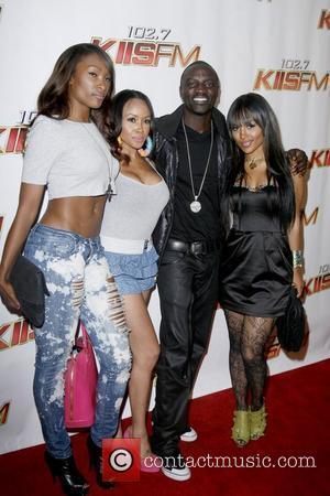 Akon KIIS FMOS Wango Tango 2010 - Arrivals held at Staples Center Los Angeles, California - 15.05.10