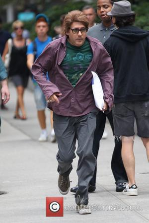 Willie Garson filming for the US hit series 'White Collar' on location in the Flatiron District. New York City, USA...