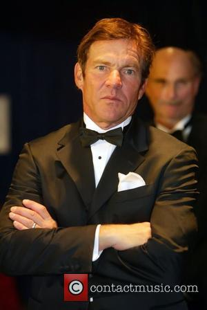 Dennis Quaid   2010 White House Correspondents Association Dinner held at the Washington Hilton Hotel - Arrivals Washington DC,...