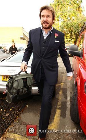 Simon Le Bon arriving at the 'X Factor' rehearsal studios London, England - 01.11.10