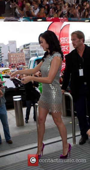 Katy Perry  arriving at the 'X Factor' auditions at Croke Park Dublin, Ireland - 28.06.10