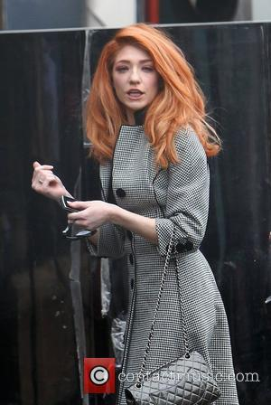 Nicola Roberts arriving at the X Factor studios London, England - 10.12.10
