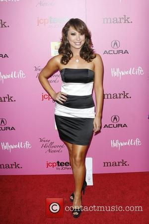 Cheryl Burke Wearing a dress by Elene Cassis, The 12th Annual Young Hollywood Awards - Arrivals held at the Wilshire...