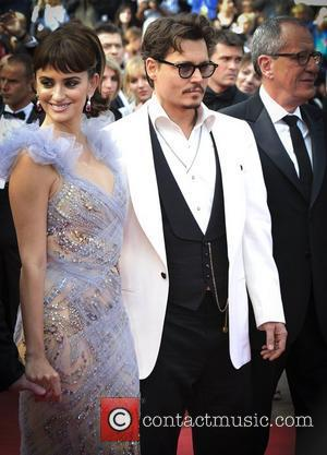Johnny Depp and Penelope Cruz 2011 Cannes International Film Festival - Day 4 - Pirates of the Caribbean: On Stranger...
