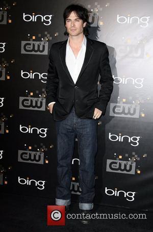Ian Somerhalder The CW's Premiere Party held at Warner Bros. Studios Lot Burbank, California - 10.09.11
