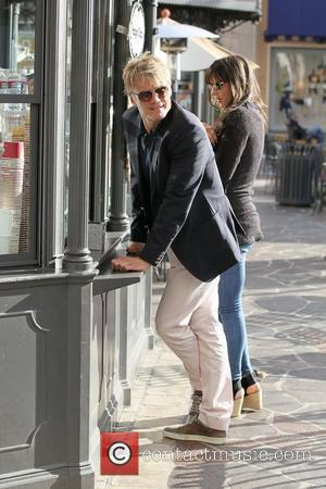Dolph Lundgren and his oldest daughter Ida Sigrid Lundgren go shopping at The Grove Hollywood, California - 01.03.11