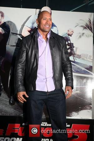Dwayne Johnson, aka The Rock attends the Premiere for Fast & Furious 5: Rio Heist at the Pathe Arena Amsterdam,...