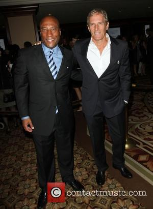Byron Allen, Michael Bolton National Multiple Sclerosis Society's 37th annual Dinner of Champions Held at The Hyatt Regency Century plaza...