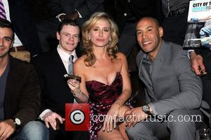 Real Housewives of New York Sonja Morgan attended the New York's Fire Department Calendar event at Merchants Cigar Bar New...