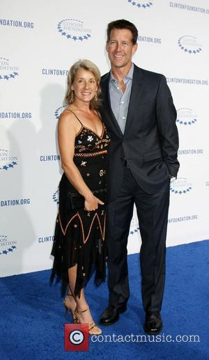 James Denton and Guest The Clinton Foundation's 'A Decade Of Difference' Gala at The Hollywood Palladium  Los Angeles, California...