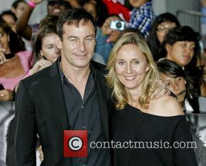 Jason Isaacs, wife Emma Hewitt  The premiere of 'Abduction' held at the Chinese Theatre - Arrivals Los Angeles, California...