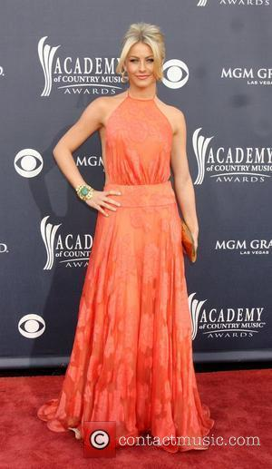 Julianne Hough  ,  The Academy of Country Music Awards 2011 at MGM Grand Garden Arena - Arrivals Las...