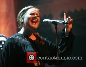 Adele performing live at the Paradiso Amsterdam, Netherlands - 08.04.11