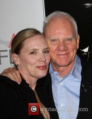Malcolm Mcdowell and Grauman's Chinese Theatre