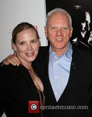Malcolm McDowell (R) and Kelley Kuhr AFI Fest 2011 Premiere Of The Artist Held At Grauman's Chinese Theatre Hollywood, California...
