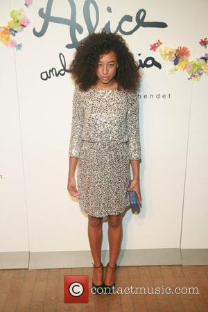Corrine Bailey Rae    Alice and Olivia by Stacey Bendet Spring/Summer2012 Presentation at the Highline Stages New York...