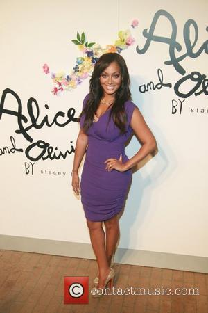 LaLa Anthony    Alice and Olivia by Stacey Bendet Spring/Summer2012 Presentation at the Highline Stages New York City,...