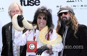 Alice Cooper, Rob Zombie and Rock And Roll Hall Of Fame