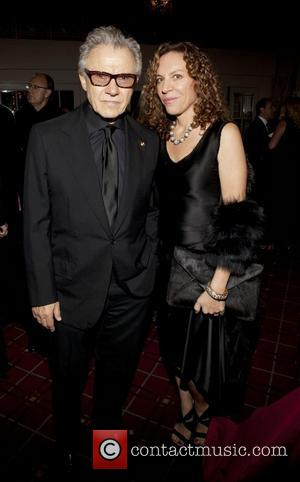 Harvey Keitel and Daphna Kastner 2011 Alzheimer's Association Rita Hayworth Gala at the Waldorf Astoria Hotel New York City, USA...