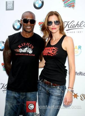 Tyson Beckford, Tricia Helfer  Kiehl's hosts LifeRide for amfAR Block Party at their New York Flagship Store New York...
