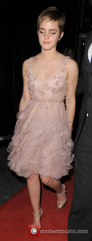 Emma Watson at the British Academy Of Film & Television Arts (BAFTA) afterparty, held at the W Hotel. London, England...