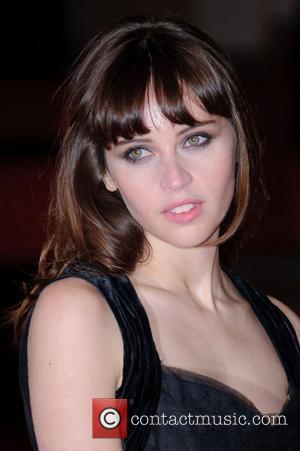 Felicity Jones Orange British Academy Film Awards (BAFTAs) held at the Royal Opera House - Arrivals  London, England -...