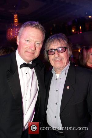 Rory Bremner, Bill Wyman 25th anniversary dinner of the Banbury Celebrity Cricket Team at the Grosvenor Hotel  London, England...